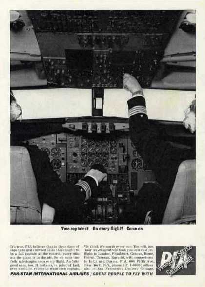 "Pakistan International Airlines ""Two Captains"" (1963)"