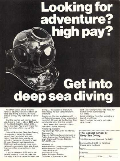 Coastal School of Deep Sea Diving (1979)