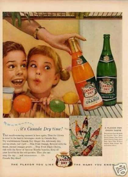Canada Dry Beverages (1955)