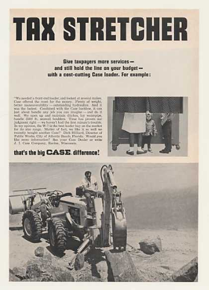 Case W-7 Loader Tractor Photo (1967)