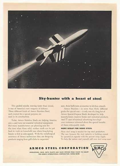 Guided Missile Armco Stainless Steel (1952)