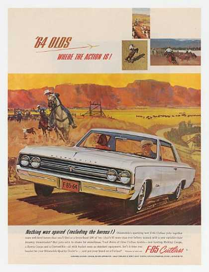 Oldsmobile F-85 Cutlass Nothing Spared Cowboys (1964)