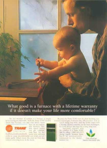 Trane Air Conditioning Company – ...more comfortable life. (1994)