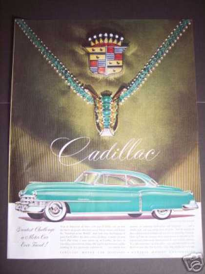 Cadillac Car Van Cleef Jewels (1950)
