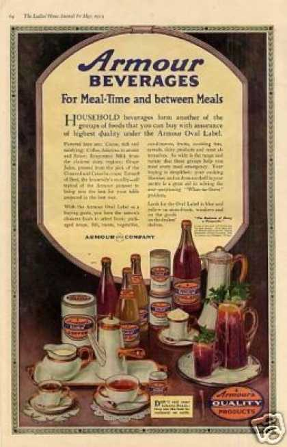 Armour's Beverages Color (1919)