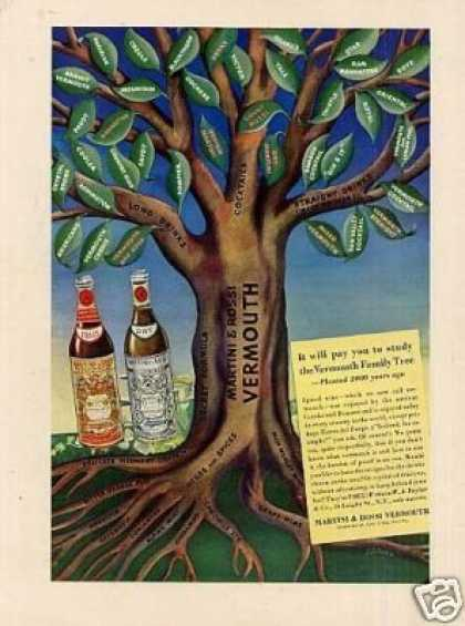 Martini & Rossi Vermouth Color (1939)