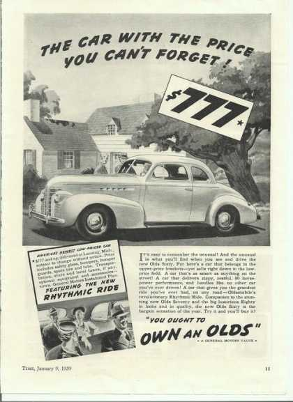 Oldsmobile Coupe (1939)