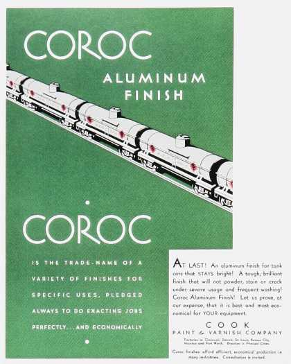 Coroc Aluminum Finish