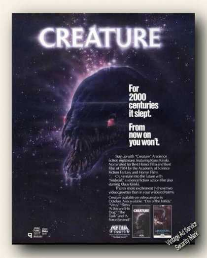 Creature for 2000 Centuries It Slept Movie (1985)