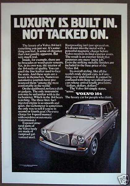 Volvo 164 Car Original Automobile (1975)