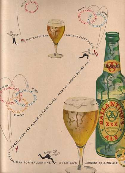Ballantine's Purity, Body & Flavor (1949)