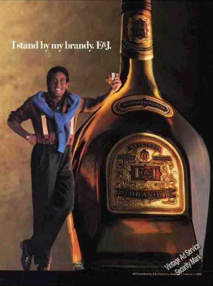 "E&j ""I Stand By My Brandy"" Impressive (1986)"