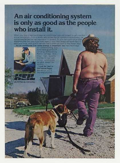 Heil Hermitage Air Conditioner Pro Installer (1977)