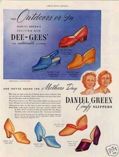 Daniel Green Slippers (1941)