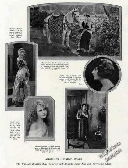 Cinema Star Photos Collectible Print Feature (1924)