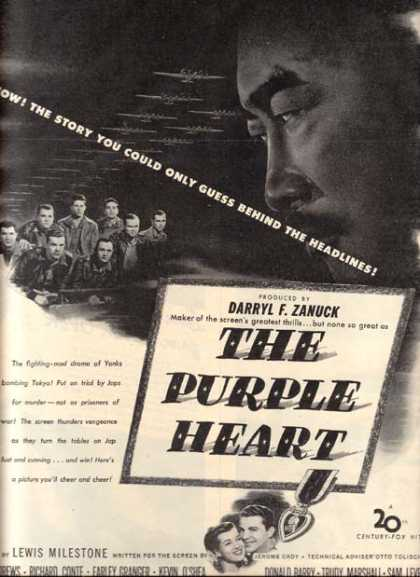 The Purple Heart (Dana Andrews) (1944)
