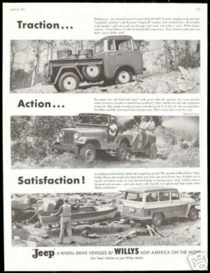 Jeep Willys FC 150 Universal Wagon Photo (1957)