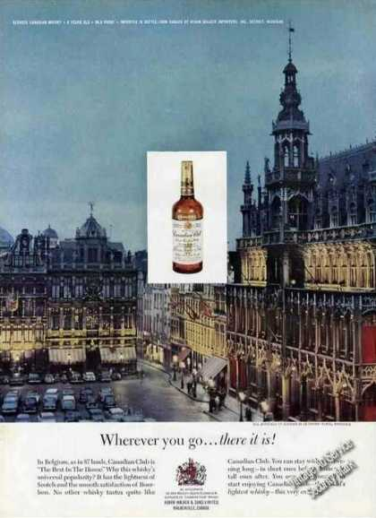 La Grand Place Brussels Photo Canadian Club (1963)