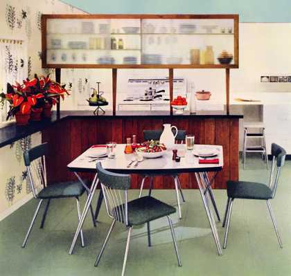 Coloramic Dinette with Daystromite top 			Daystrom (1953)