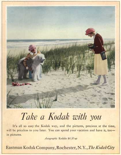 Kodak – Take a Kodak with you (1922)