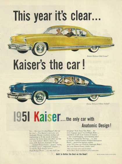 Kaisers the Car Anatomic Design (1950)