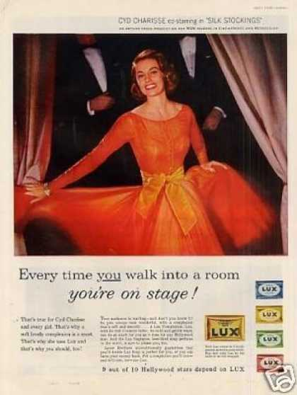 Lux Soap Ad Cyd Charisse (1957)