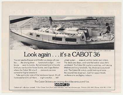 Cabot 36 Boat Yacht Photo (1977)