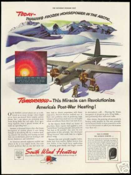 South Wind Heaters WWII Airplane Arctic (1943)
