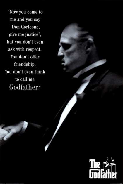 The Godfather- Respect