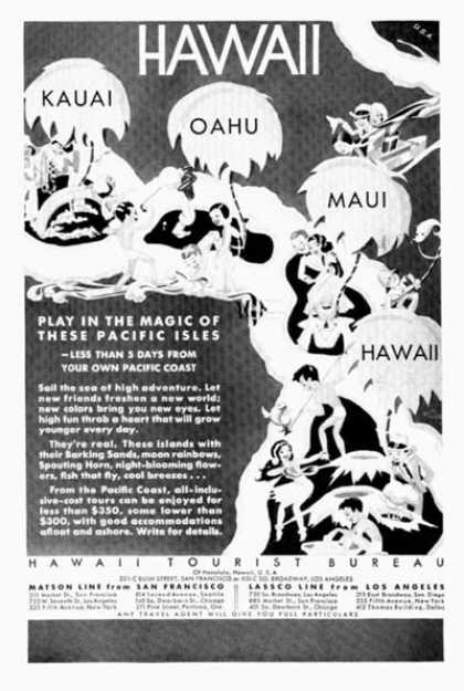 Hawaii Tourist Bureau (1931)