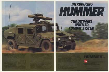 LTV AM General Hummer Military Vehicle (1984)