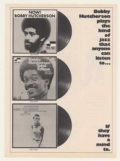 Bobby Hutcherson Blue Note Jazz Records (1971)
