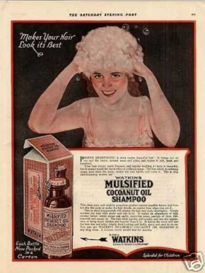 Mulsified Cocoanut Oil Shampoo Color (1920)