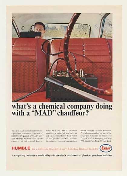 Humble Oil Enjay Chemical MAD Dyno Chauffeur (1964)