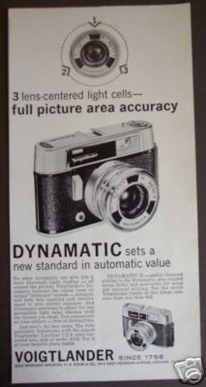 Voigtlander Dynamatic Auto 35mm Camera (1961)