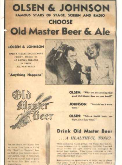 Old Master Beer & Ale