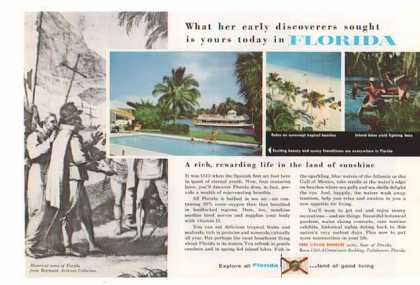 Florida Travel – Early Discoverers (1955)