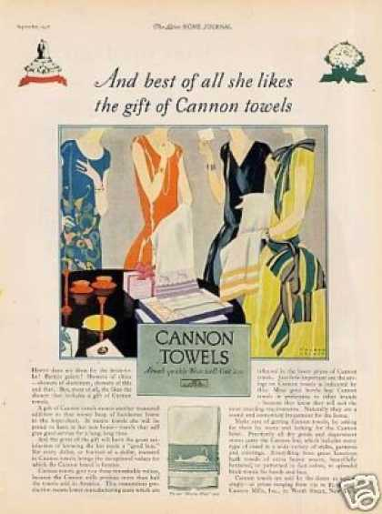 Cannon Towels (1926)