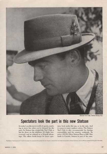 Steton Turf Club Mens Hat (1955)