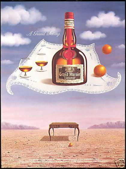 Grand Marnier Liqueur Gallardo Art Grand (1988)