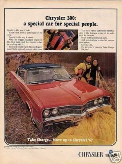 Chrysler 300 2-door Hardtop Car (1967)
