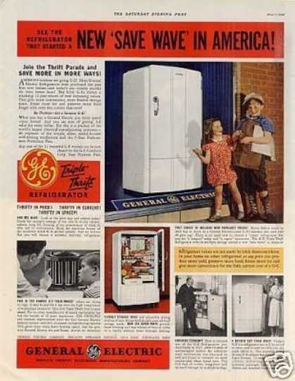General Electric Refrigerator Color (1938)