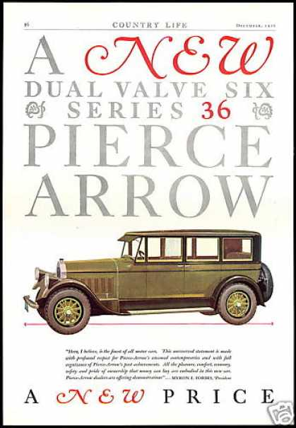 Pierce Arrow Series 36 Car Vintage (1927)