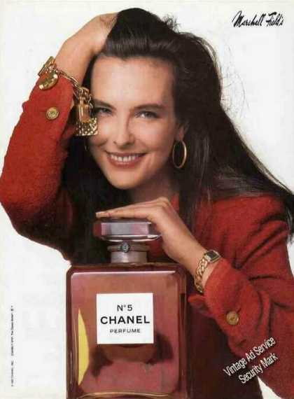 Chanel No.5 Perfume Nice Marshall Field Color (1987)