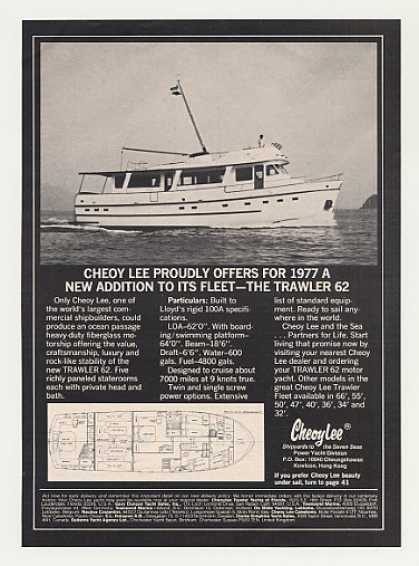 Cheoy Lee Trawler 62 Boat Photo (1977)