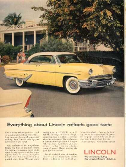Ford's Lincoln (1955)