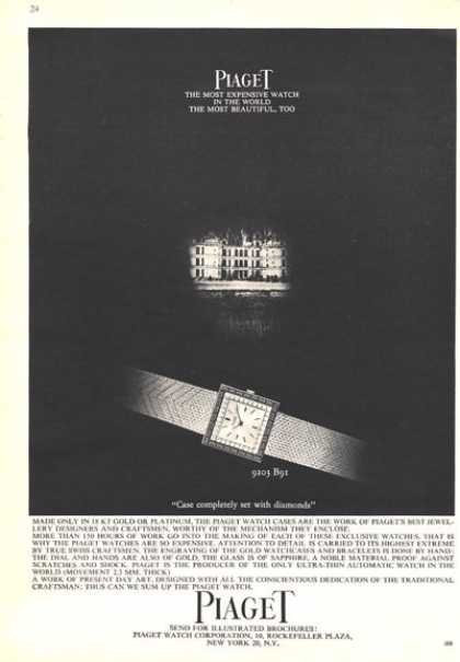 Piaget 'most Expensive Watch In the World' (1964)