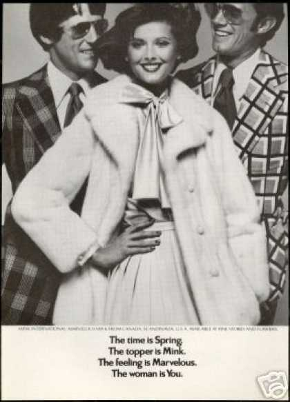 Mink International Marvelous Fur Coat Photo (1973)