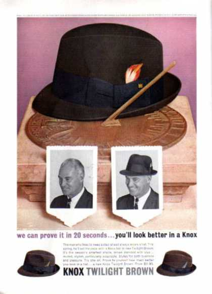 Knox Hat Gentlemen (1963)