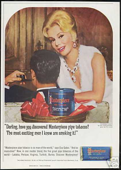Eva Gabor Photo Masterpiece Pipe Tobacco (1964)